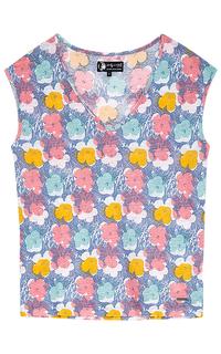 Блузка с принтом Pepe Jeans