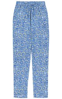 Брюки в пижамном стиле La Reine Blanche