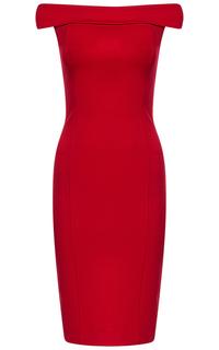Платье с открытыми плечами La Reine Blanche