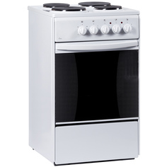 Электрическая плита (50-55 см) Flama AE 1406 White