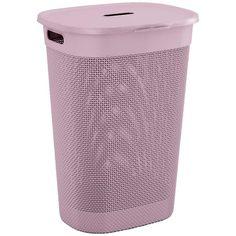 Корзина для белья KIS Filo Hamper 55л Pink