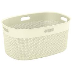 Корзина для белья KIS Filo Laundry Basket 45л Cream
