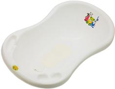 Ванночка Parusok «Мишка» 100 см с пробкой и ковриком