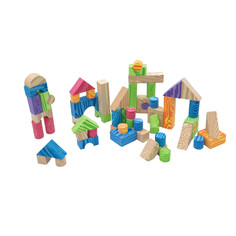 Игрушка Little Hero Набор мягких строительных кубиков 3094