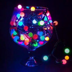 Гирлянда Neon-Night Мультишарики 17.5mm 20m RGB 303-509