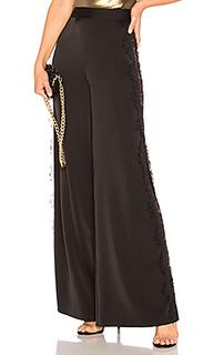 Широкие брюки с кружевом leggy in lace - NBD