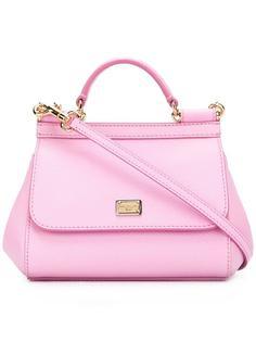маленькая сумка-тоут Sicily Dolce & Gabbana