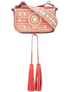 сумка на плечо Mexican с вышивкой Moschino