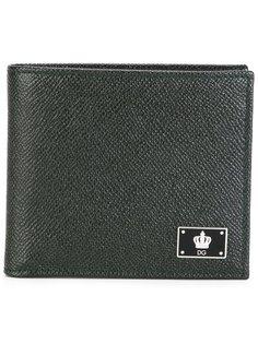 бумажник с логотипом в виде короны Dolce & Gabbana