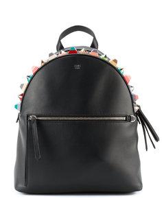 рюкзак с объемной отделкой Fendi
