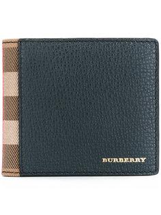 складной бумажник в клетку  Burberry