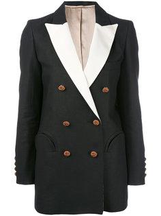 пиджак с контратными лацканами Blazé Milano