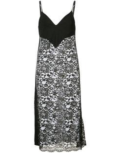 кружевное платье-комбинация Paco Rabanne