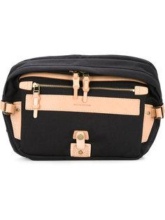 двухцветная сумка на одно плечо As2ov