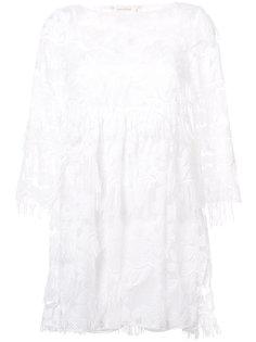 кружевное платье Nicole Miller