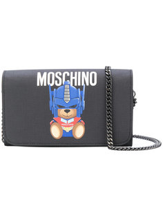 сумка на плечо Transformer Teddy Moschino
