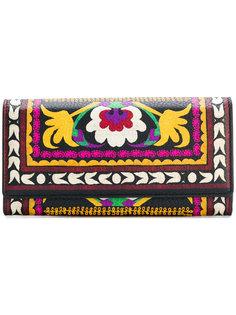 кошелек с цветочным принтом Etro