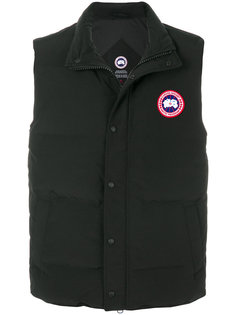 куртка-пуховик без рукавов Canada Goose