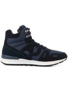 хайтопы на шнуровке Armani Jeans
