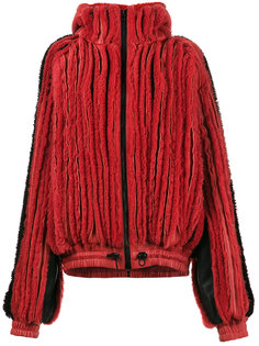 ребристая меховая куртка Y / Project
