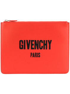 Iconic logo print pouch Givenchy