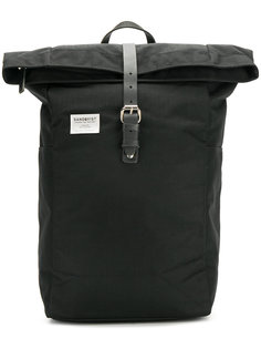 рюкзак с кожаным ремешком  Sandqvist