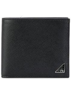 классический складной кошелек Prada
