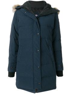 дутое пальто с капюшоном  Canada Goose