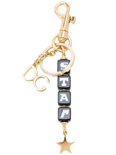 брелок для ключей со звездой Dolce & Gabbana