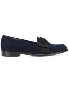 Aldena Bow loafers Manolo Blahnik