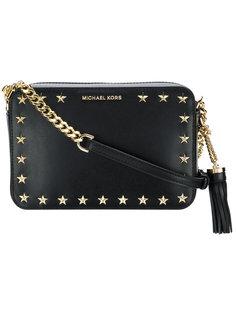 сумка через плечо Ginny с заклепками-звездами Michael Michael Kors