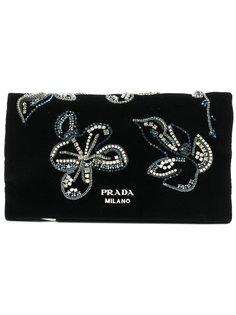 декорированный клатч Prada