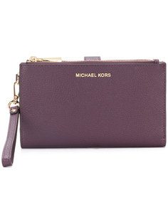 клатч для смартфона Adele с ремешком на запястье Michael Michael Kors