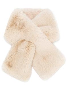 шарф из кроличьего меха N.Peal