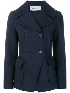 двубортное пальто  Valentino
