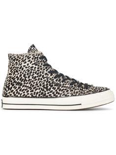 высокие кеды Chuck Taylor Cheetah Converse