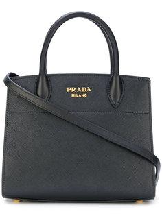мини сумка-тоут Bibliotheque Prada