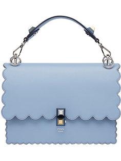 сумка с фестончатыми краями Kan I Fendi
