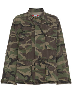 камуфляжная куртка с вышивкой  Adaptation