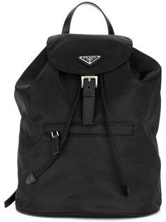 рюкзак с логотипом Prada