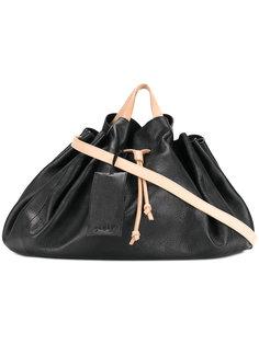 большая сумка-тоут на шнурке Marsèll