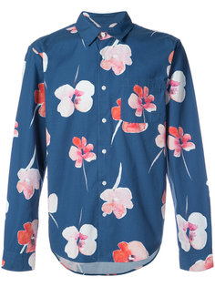 long sleeved floral shirt Stussy