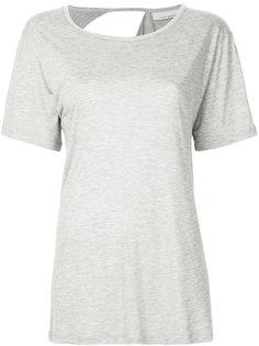 футболка с вырезом на спине Kacey Devlin