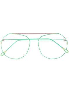 массивные очки в оправе геометрической формы Delirious