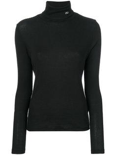 топ с отворотной горловиной Calvin Klein Jeans
