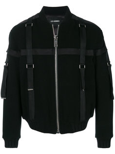 куртка-бомбер с ремешками Les Hommes