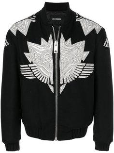 куртка с вышивкой Les Hommes