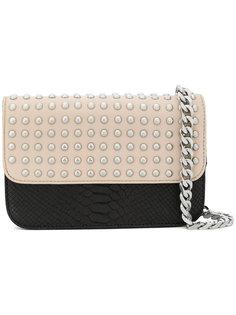 сумка на плечо с заклепками  DKNY