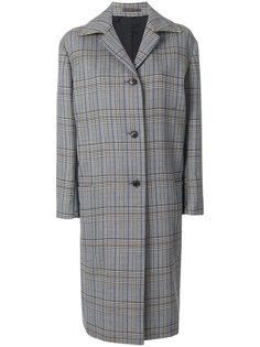 oversized check coat Paul Smith