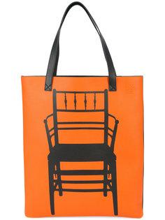 сумка-тоут с принтом стула Loewe